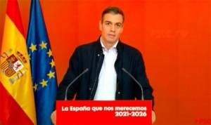 Sánchez presenta al PSOE 2021-2026: más sanidad pública y ley de eutanasia