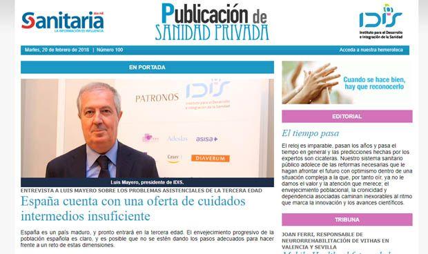 Publicación de Sanidad Privada celebra 100 números
