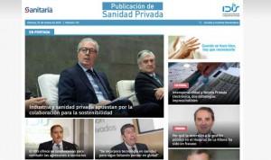 Publicación de Sanidad Privada estrena un diseño más atractivo