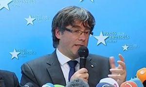 """Puigdemont pide a los sanitarios que """"hagan lo posible"""" para paliar el 155"""