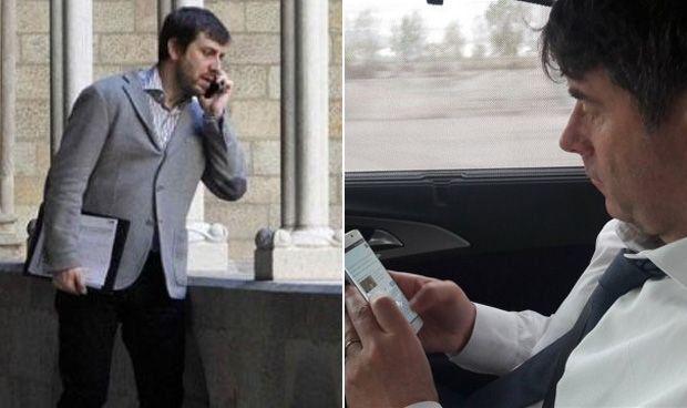 Puigdemont salió de la cárcel (y a Comín le quemó el teléfono)