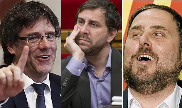 Puigdemont y Junqueras dejan a Comín sin billete de avión a Bruselas