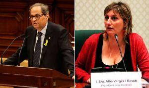 Quim Torra nombra a Alba Vergés nueva consejera de Salud de Cataluña