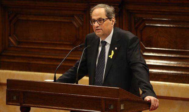 Quim Torra promete una mejor sanidad solo si hay una república catalana