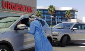 Quirónsalud Campo de Gibraltar inicia las PCR sin tener que bajar del coche