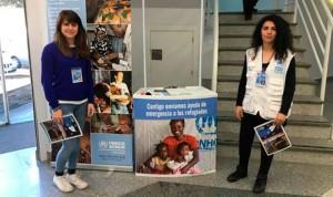 Quirónsalud Clideba y Acnur se unen para ayudar a los refugiados