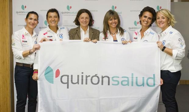 Quirónsalud cuida la salud de las participantes del Reto Transatlántica