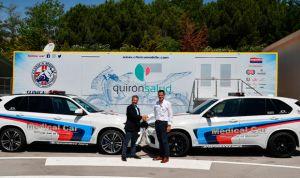 Quirónsalud pone en marcha el primer hospital móvil del Mundial MotoGP