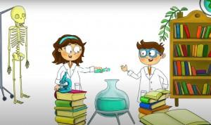 Rafael Matesanz 'protagoniza' un dibujo animado de divulgación científica