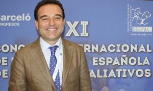 Rafael Mota, al frente de la Sociedad Española de Cuidados Paliativos