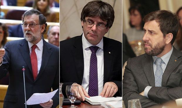 Rajoy ratifica que cesará a Puigdemont y Comín con el artículo 155