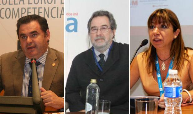 Ramón González Carvajal, Germán Seara y Ana Pastor