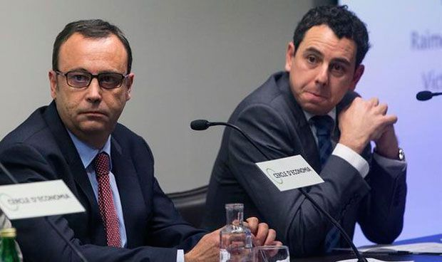 Ramón Grifols y Víctor Grifols Deu