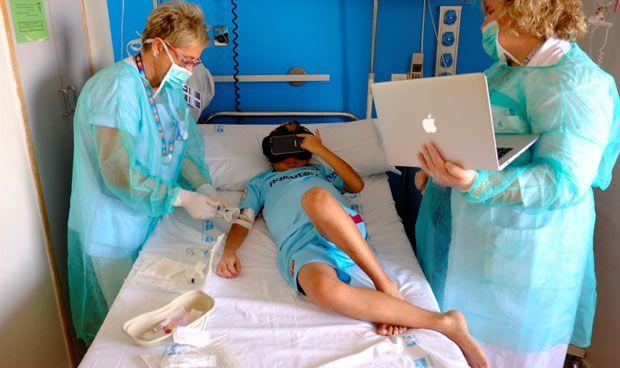 Realidad virtual para ayudar al niño a superar un trasplante hepático
