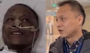 Reaparece recuperado el médico con coronavirus cuya piel se volvió negra