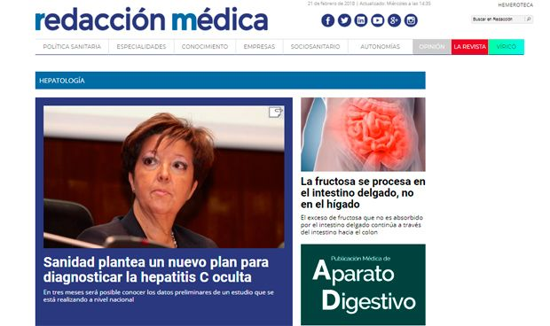 Redacción Médica incorpora Hepatología a su oferta informativa