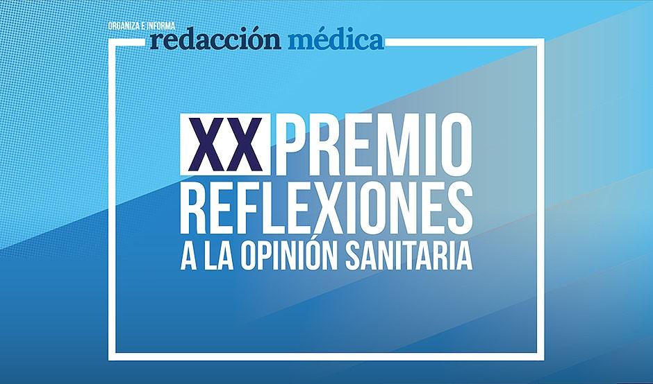 Redacción Médica entrega el XX Premio Reflexiones este martes 11 de mayo