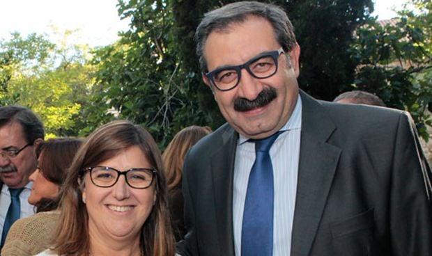 Regina Leal y Jesús Fernández