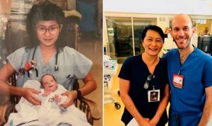 Regresa al hospital donde le salvaron la vida y les da esta sorpresa