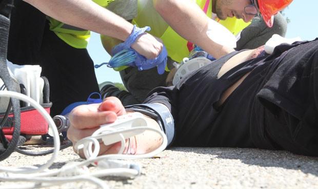 Relato 'heroico' de emergencias tras un paciente que tomó droga caníbal