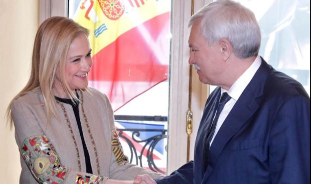 Representantes rusos se interesan por la sanidad madrileña
