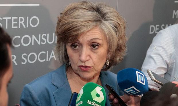 Reunión del PSOE a puerta cerrada en Madrid con Carcedo