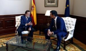 Reunión Rajoy-Sánchez: el PSOE dice 'no a todo' también en sanidad