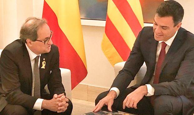 Reunión Sánchez-Torra: fin del veto a la sanidad universal catalana