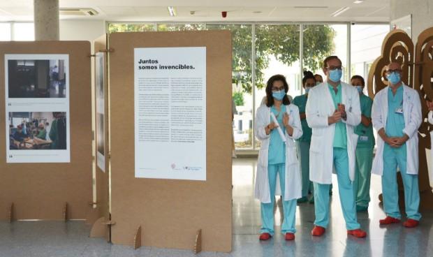 Ribera Salud rinde homenaje con una exposición fotográfica del Covid-19