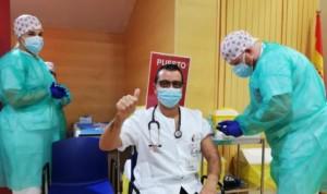 Ribera vacuna en 24 horas al 100% de sus profesionales asistenciales
