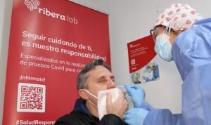 """Riberalab refuerza sus servicios de test Covid para """"evitar la cuarta ola"""""""