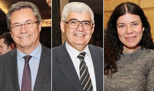 Ricardo Campos, Justo Herrera y Patricia Lacruz