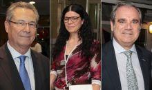 Ricardo Campos, Patricia Lacruz y Jesús Aguilar