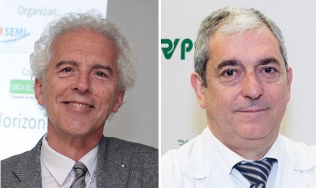 Ricardo Gómez Huelgas y Javier de la Fuente