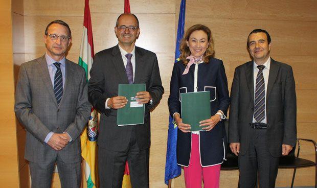 Rioja Salud y la Universidad San Jorge impulsan la investigación sanitaria