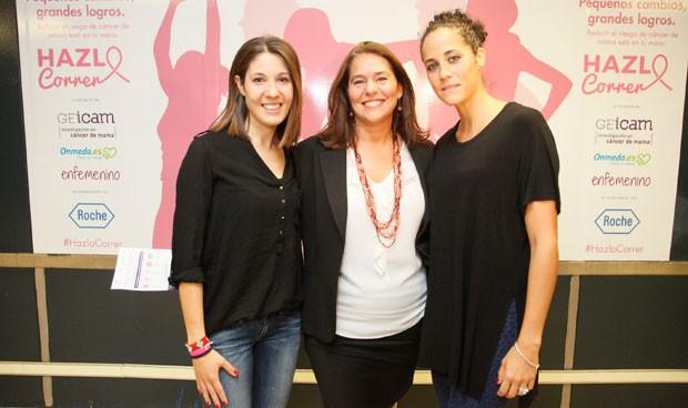 Roche y Geicam conciencian en el Metro sobre el cáncer de mama