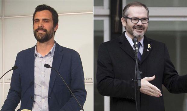 Roger Torrent y Josep Costa i Rosselló