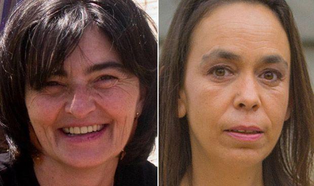 Rosario Alises y Helena Galán
