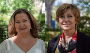 Rosario Perona y Pilar Gayoso, subdirectoras generales del ISCIII