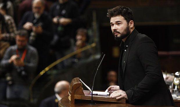 """Rufián, sobre la EMA: """"El que pega dice que la culpa es del que vota"""""""