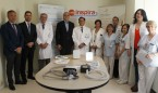 Ruiz Escudero visita el Punto Inspira del Hospital Gregorio Marañón