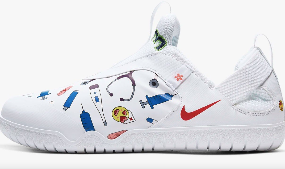 Clip mariposa directorio Contorno  Salen a venta las zapatillas Nike para médicos y enfermeros
