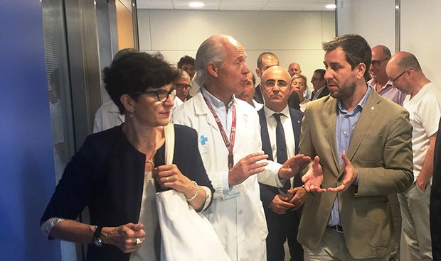 Comín anuncia el derribo del Joan XXIII y la construcción de otro hospital