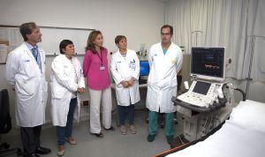 Salud incorpora el primer ecógrafo digital en el Hospital San Pedro