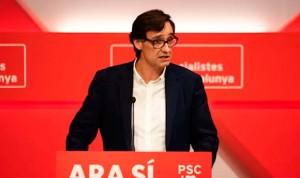 Salvador Illa, candidato del PSC en las elecciones catalanas del 14F
