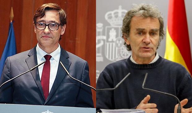 Salvador Illa y Fernando Simón anuncian qué provincias pasan a la Fase 1