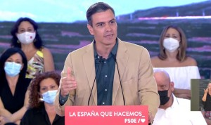 "Sánchez: ""1 de cada 2 españoles tendrá pauta completa la semana próxima"""