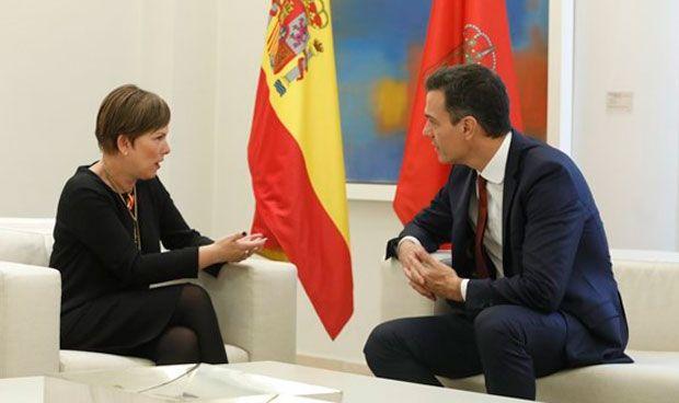 Sánchez acuerda retirar el recurso contra la sanidad universal navarra