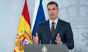 """Sánchez alaba la """"movilización épica"""" de sanitarios durante la pandemia"""