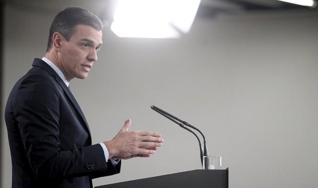 """Sánchez: """"El personal sanitario es el mejor escudo contra el coronavirus"""""""